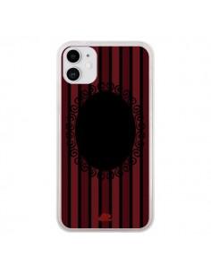 Coque iPhone 11 Camée Squelette Bleue - Enilec