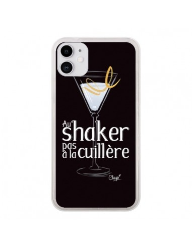 Coque iPhone 11 Au shaker pas à la cuillère Cocktail Barman - Chapo