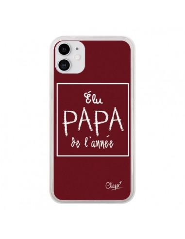 Coque iPhone 11 Elu Papa de l'Année...