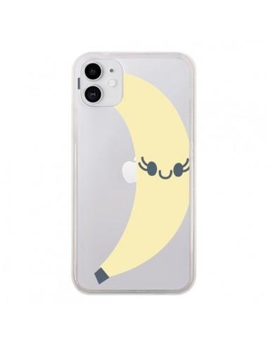 Coque iPhone 11 Banana Banane Fruit Transparente - Claudia Ramos