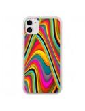 Coque iPhone 11 Acid Vagues - Danny Ivan