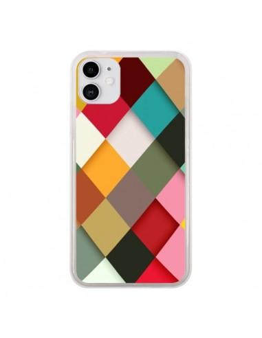 Coque iPhone 11 Colorful Mosaique - Danny Ivan