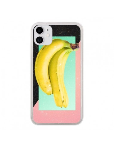 Coque iPhone 11 Eat Banana Banane Fruit - Danny Ivan