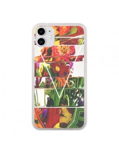 Coque iPhone 11 Facke Flowers Fleurs - Danny Ivan