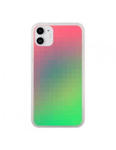Coque iPhone 11 Gradient Pixel - Danny Ivan