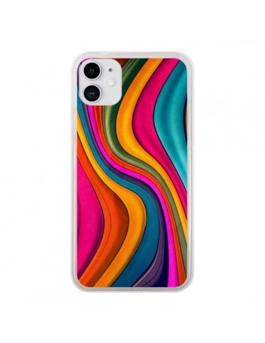 Coque iPhone 11 Love Color Vagues - Danny Ivan