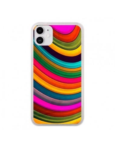 Coque iPhone 11 More Curve Vagues - Danny Ivan