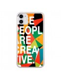 Coque iPhone 11 Nice people are creative art - Danny Ivan