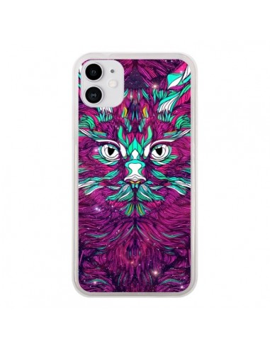 Coque iPhone 11 Space Cat Chat espace - Danny Ivan