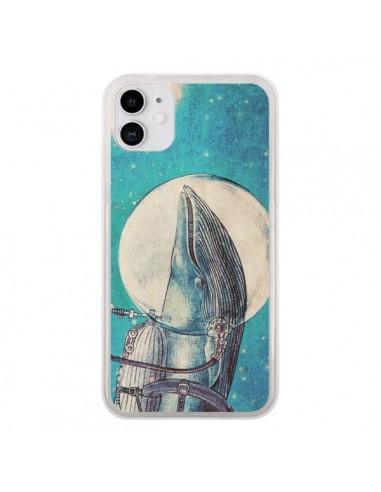 Coque iPhone 11 Baleine Whale Voyage Journey - Eric Fan