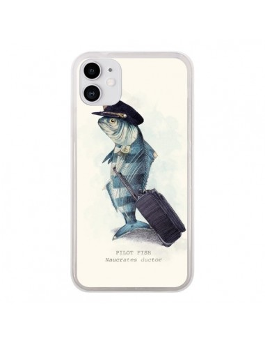 Coque iPhone 11 The Pilot Fish Poisson Pilote - Eric Fan