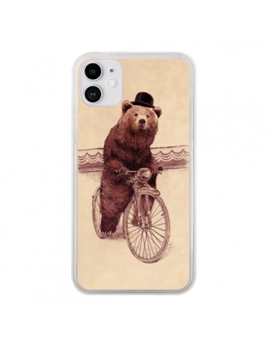 Coque iPhone 11 Ours Velo Barnabus Bear - Eric Fan