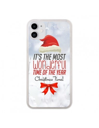 Coque iPhone 11 Joyeux Noël - Eleaxart