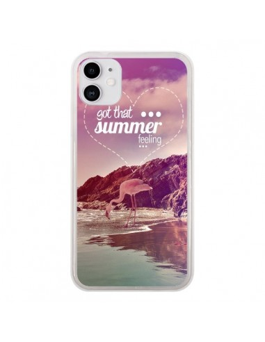 Coque iPhone 11 Summer Feeling _té - Eleaxart