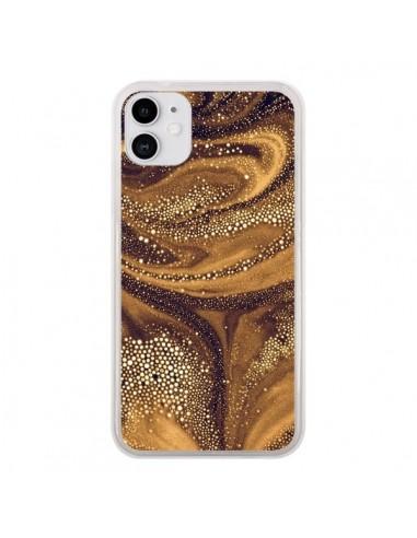 Coque iPhone 11 Molten Core Galaxy - Eleaxart