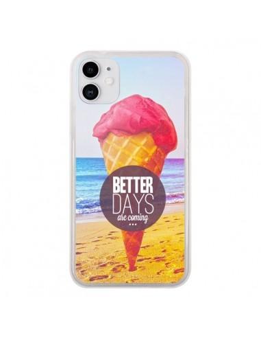 Coque iPhone 11 Glace Ice Cream _té - Eleaxart