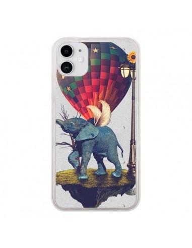Coque iPhone 11 Elephant Lfant - Eleaxart