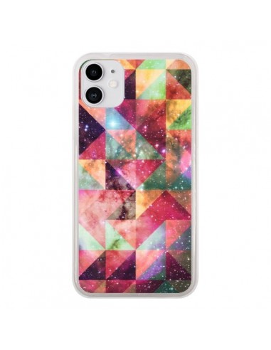 Coque iPhone 11 Azteque Galaxy - Eleaxart