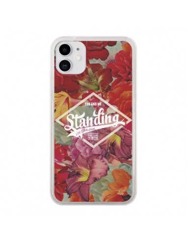 Coque iPhone 11 Standing On The Sun Fleur - Eleaxart