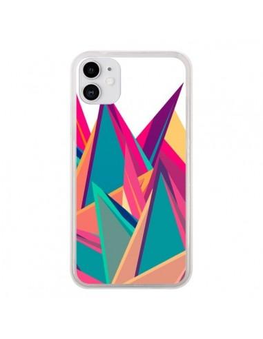 Coque iPhone 11 Triangles Intensive Pic Azteque - Eleaxart