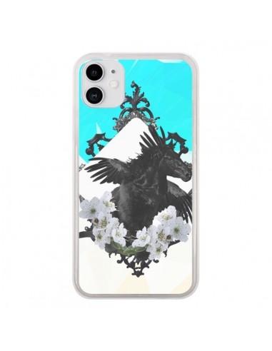 Coque iPhone 11 Licorne Unicorn - Eleaxart