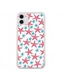 Coque iPhone 11 Etoiles de mer Estrellitas - Eleaxart