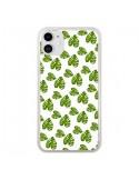 Coque iPhone 11 Plantes vertes - Eleaxart