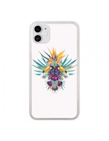 Coque iPhone 11 Exotic Toucans Summer Ete - Eleaxart