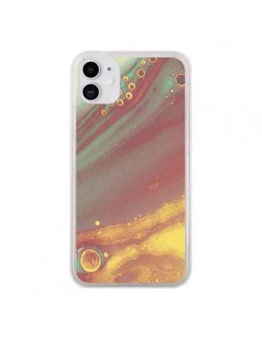 Coque iPhone 11 Cold Water Galaxy - Eleaxart
