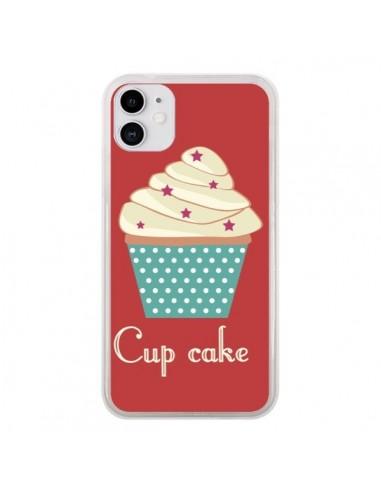 Coque iPhone 11 Cupcake Creme - Léa Clément