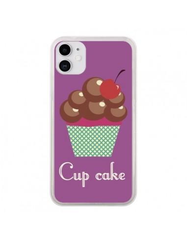Coque iPhone 11 Cupcake Cerise Chocolat - Léa Clément