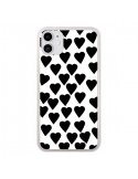 Coque iPhone 11 Coeur Noir - Project M