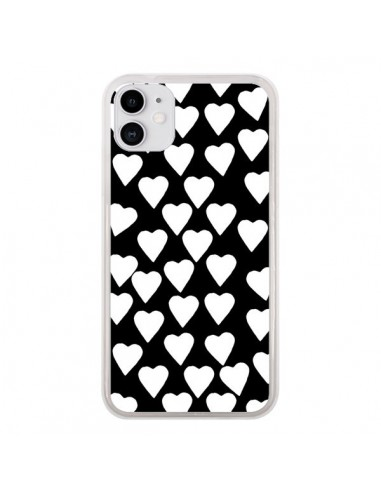 Coque iPhone 11 Coeur Blanc - Project M