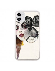 Coque iPhone 11 Flower Girl - Felicia Atanasiu