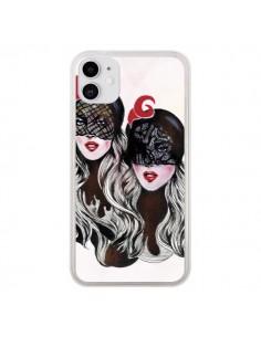 Coque iPhone 11 Gemini Jumelles - Felicia Atanasiu