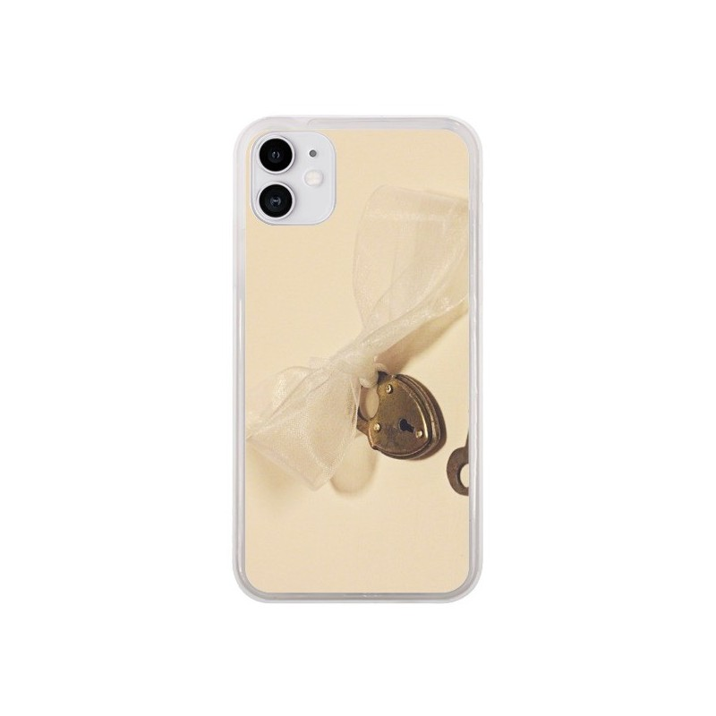 Coque iPhone 11 Key to my heart Clef Amour - Irene Sneddon