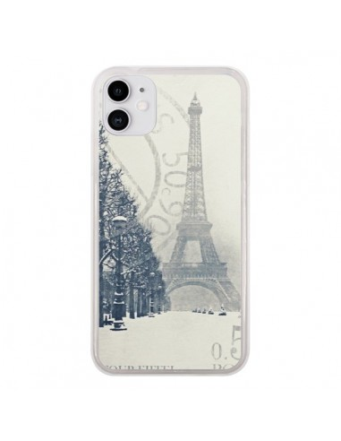 Coque iPhone 11 Tour Eiffel - Irene Sneddon