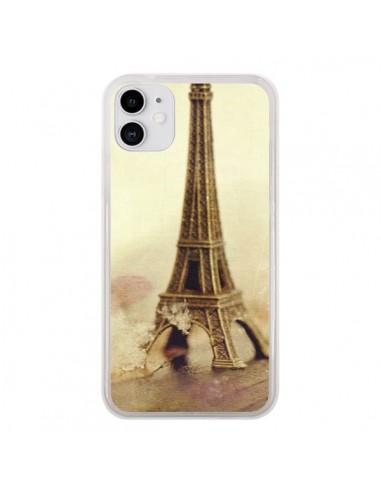 Coque iPhone 11 Tour Eiffel Vintage - Irene Sneddon