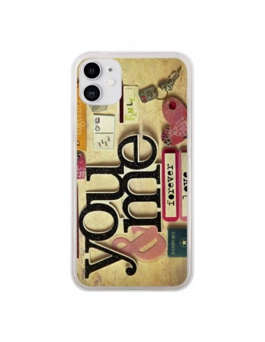 Coque iPhone 11 Me And You Love Amour Toi et Moi - Irene Sneddon