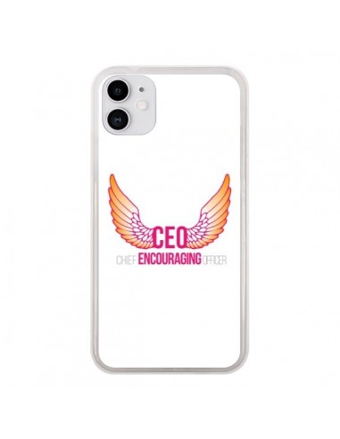 Coque iPhone 11 CEO Chief Encouraging Officer Rose - Shop Gasoline