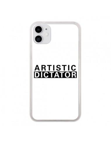 Coque iPhone 11 Artistic Dictator Black - Shop Gasoline