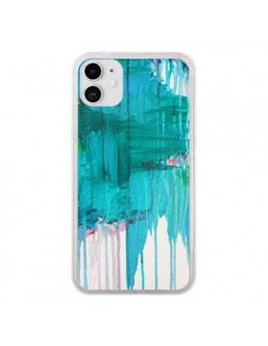 Coque iPhone 11 Blue Monsoon - Ebi Emporium