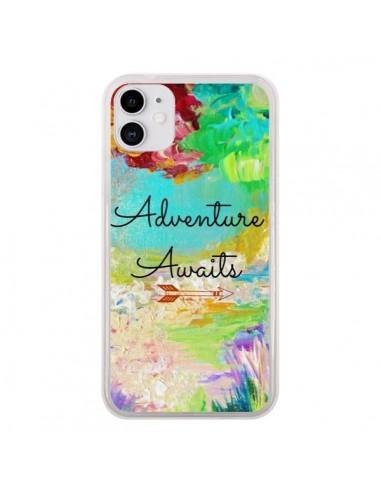Coque iPhone 11 Adventure Awaits Fleurs - Ebi Emporium
