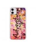 Coque iPhone 11 Adventure Is Out There Fleurs - Ebi Emporium