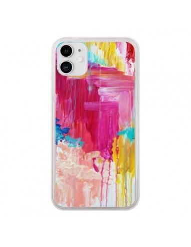 Coque iPhone 11 Elated Peinture - Ebi Emporium