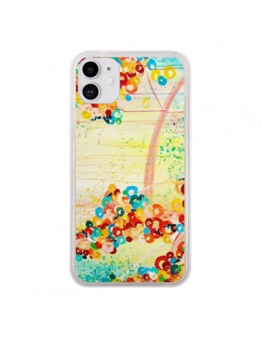 Coque iPhone 11 Summer in Bloom Flowers - Ebi Emporium
