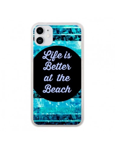 Coque iPhone 11 Life is Better at The Beach - Ebi Emporium