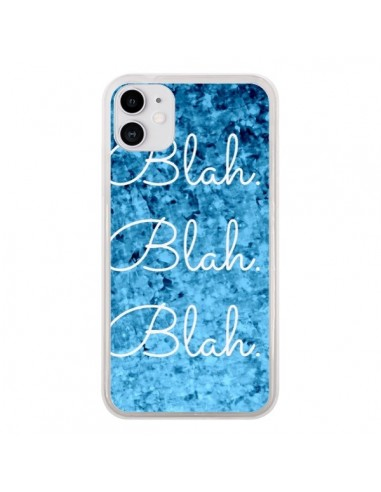 Coque iPhone 11 Blah Blah Blah - Ebi Emporium