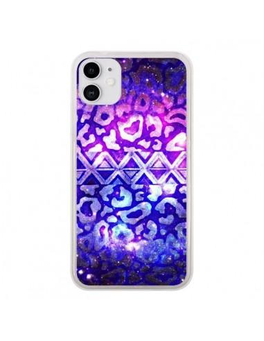 Coque iPhone 11 Tribal Leopard Galaxy - Ebi Emporium