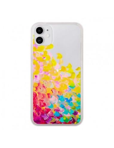 Coque iPhone 11 Creation in Color Jaune Yellow Transparente - Ebi Emporium